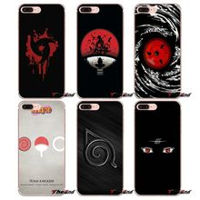 Naruto Transparent Soft Covers For iPhone