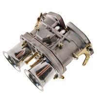 Механическую дроссель 48IDF карбюратор + рожки Замена для VW Fiat Porsche 48 IDF, 48IDF, 48 IDF тяжелых цинковый сплав