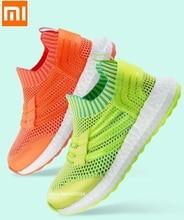 Детские сетчатые кроссовки Xiaomi, летние дышащие кроссовки, легкая повседневная обувь