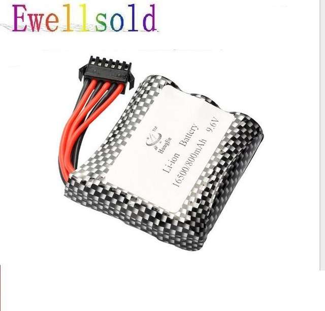 Ewellsold S911 S912 <font><b>9115</b></font> 9116 high speed <font><b>RC</b></font> truck 9.6V 800mAh Li-polymer <font><b>battery</b></font> image