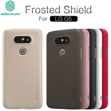For LG G5 Case 100 Original Nillkin Frosted Shield Matte Anti Slip Hard Plastic Protective Phone