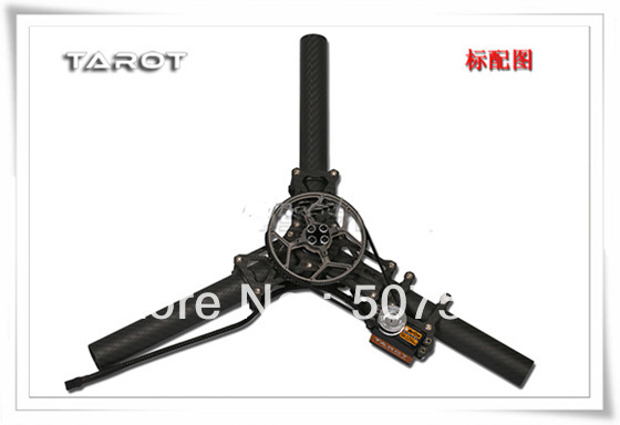 Tarot TL100A16 Rudder Assembly for 3 axis Camera Mount free shipping with tracking tarot shock absorber assembly for 3 axis camera mount tl100a17 free track shipping