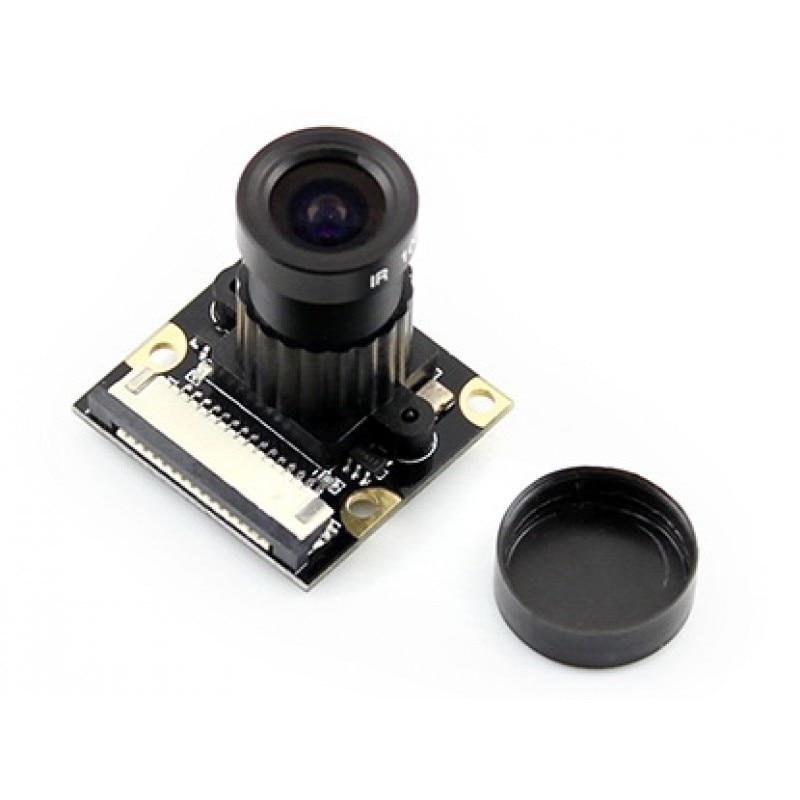 Modules Raspberry Pi Camera F for all Version Model A+/B/B+/2 B/3 B Night Vision Camera Module Kit 1080p 5MP OV5647 Webcam Camer premium 3pcs cpu ram lan copper heatsink cooler pad kit for raspberry pi 3 pi 2 pi model b raspberry pi a a radiator cooling