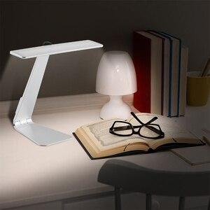 Image 5 - Lámpara de mesa de lectura ultradelgada, estilo Mac, LED de 200LM, 3 modos de atenuación táctil, lámpara de escritorio con batería integrada, luz nocturna suave