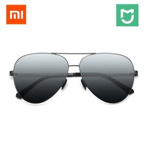 Image 2 - Xiaomi Mijia güneş ayna lensler cam UV400 Turok Steinhardt TS marka naylon polarize paslanmaz gözlük açık seyahat adam kadın