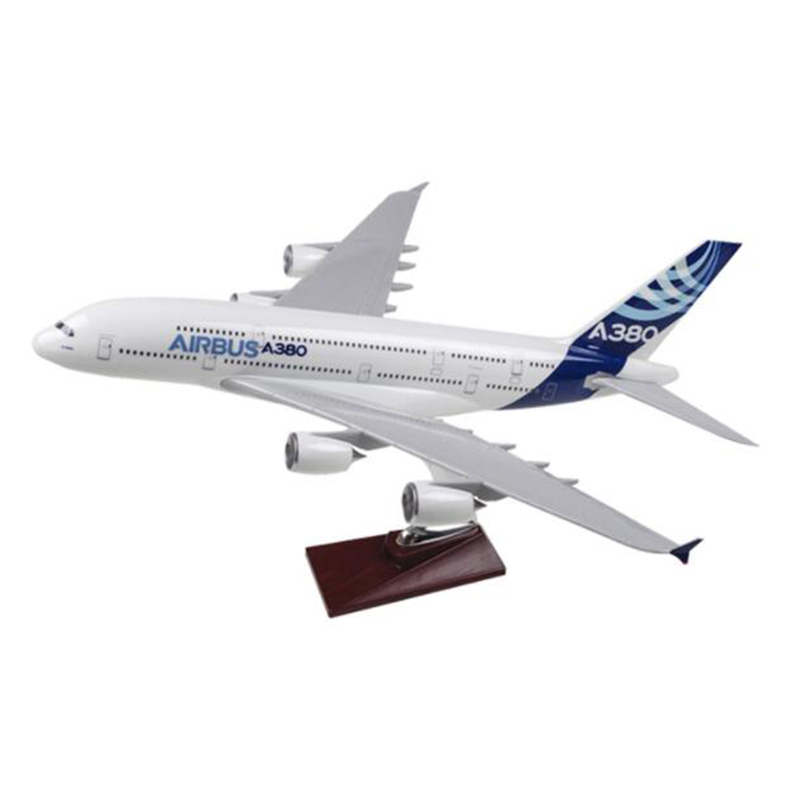 النادرة 35 سنتيمتر نموذج طائرة لعب ايرلندا ايرباص A380 نموذج طائرة دييكاست البلاستيك الطائرة سبيكة الهدايا للأطفال-في سيارات لعبة ومجسمات معدنية من الألعاب والهوايات على  مجموعة 3