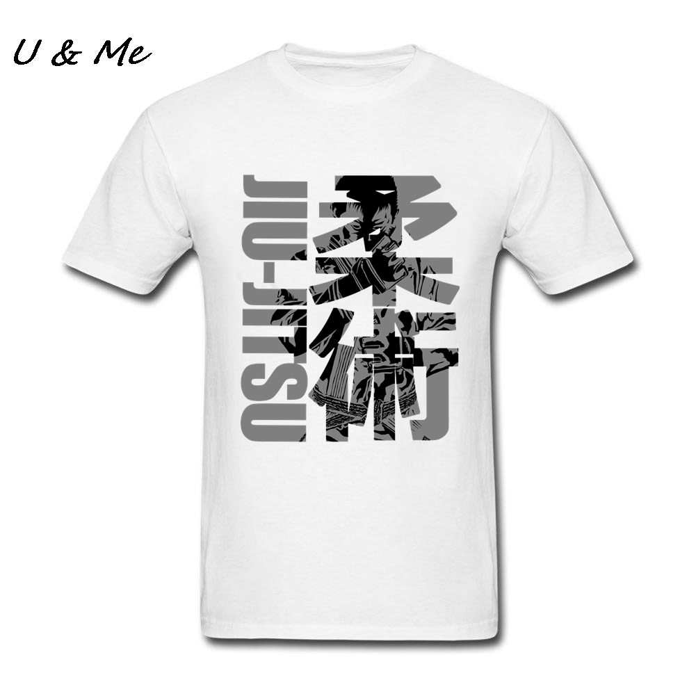 Jiu Jitsu Artwork Men T Shirt Cheap Sale O Neck BJJ t shirt ...