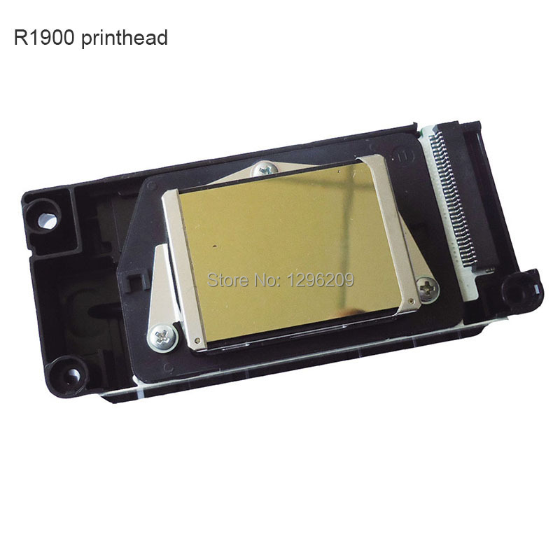 New Original DX5 Print head for Epson R1900 R2000 R2880 printhead - F186000 Unlocked Solvent nozzle new original solvent print head f186010 printhead compatible for epson r2880 oil solvent printer head