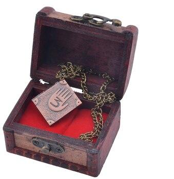 Кулон дневник номер 3 Гравити Фолз в подарочной шкатулке 1