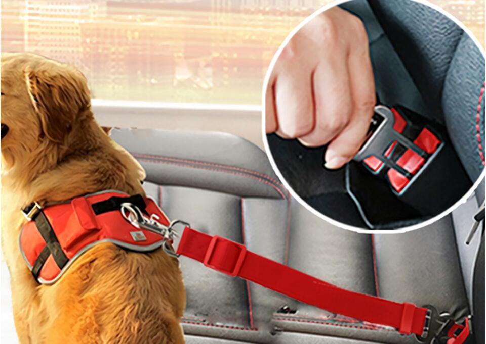 Pet Auto Sitz Gürtel Hund Versenkbare Sicherheit Harness Pet Seil Traktion Gürtel Hund Auto Seatbelt üBerlegene Leistung Sicherheitsgurt