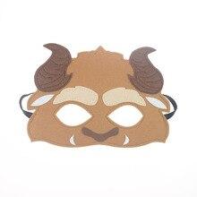 Mask Beauty and the Beast DC Super Hero Batman Kids Boy Girl Costume Star Wars Avengers DIY Masquerade Eye Cosplay