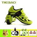 Tiebao sapatilha ciclismo 2019 мужские SPD-SL педали для езды на велосипеде обувь для самостоятельной фиксации атлетические велосипедные кроссовки zapatos ...