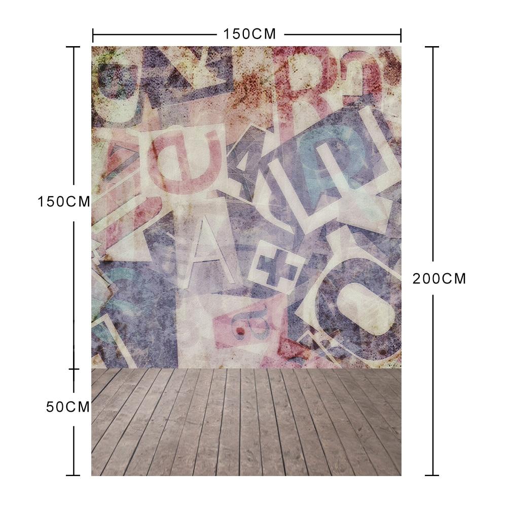 Grafiti Letras de pared Tablero de madera Foto Telones de fondo - Cámara y foto - foto 2