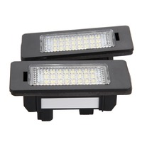 Shipping From Germany 2X 18 Leds White SMD LED License Number Plate Light Lamp FOR