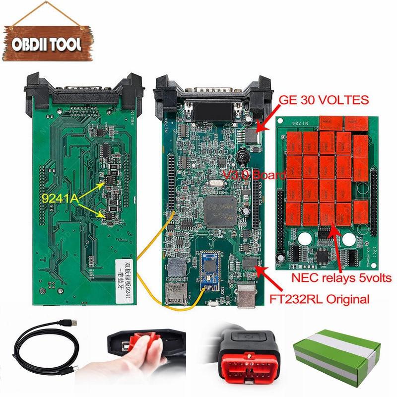 V3.0 PCB Nec Relays cdp tcs bluetooth 2015.R3 Keygen diagnostic tool same as wow mvd Multidiag Auto Scanner For Car Truck