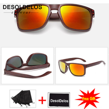 Feminino Sun Glasses Outdoors Square Eyewear Gafas De Sol Oculos FemininoFashionable Wood Sunglasses Men