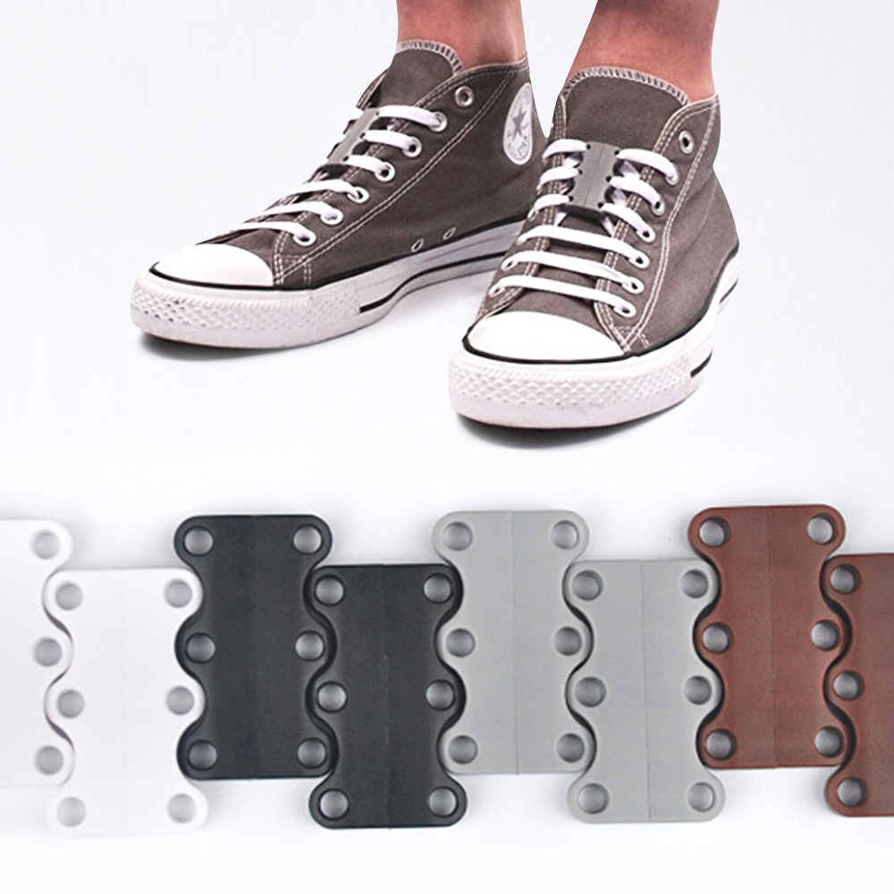 Demine Strong Quick Easy Magnetic Shoelaces For Sneakers Shoes Buckles Closure No Tie Shoelace Buckle