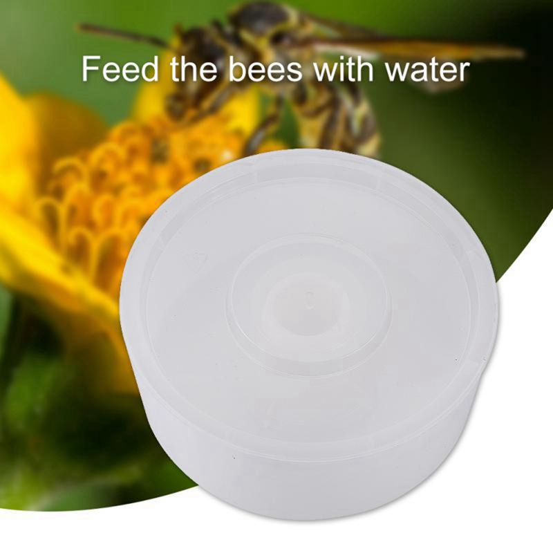 Easy To Use Round Bee Feeder Plastic Rapid Bee Water Feeder For Hive Top