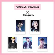 Kpop EXO Chanyeol Personal Signature Polaroid Photocards Paper Photo Cards Collective Card 5pcs(China)