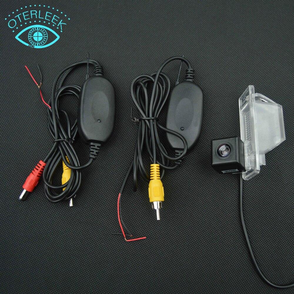 imágenes para Visión nocturna INALÁMBRICA de visión trasera cámara de marcha atrás de copia de seguridad para NISSAN QASHQAI Nissan X-TRAIL
