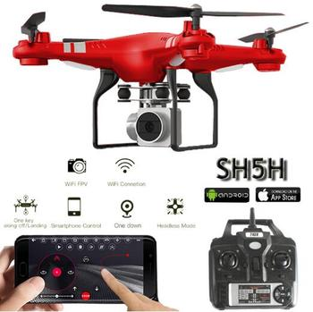 SH5H Dron Quadrocopter FPV Drones With Camera HD Quadcopters With WIFI Camera RC Drone Remote Control Toys VS Syma x5c remote control charging helicopter