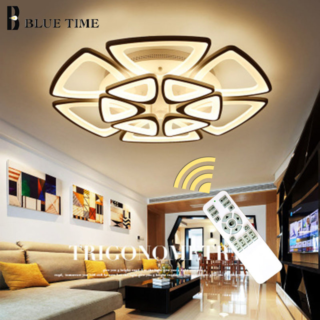 Recommend 50cm 68cm 84cm Modern Ceiling Lights For Living Room Bedroom Lamparas De Techo Led