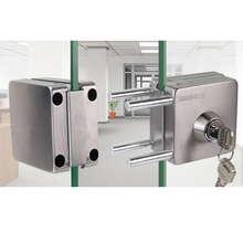 New Stainless Steel Double Glass Door Sliding Door Lock No Punching Easy to Install10mm-12mm