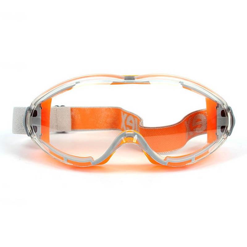 UVEX Safety Goggles Fashion Orange Sporty Riding Windproof Transparent Eyewear Anti-chemical Splash Work Protective Eyeglasses