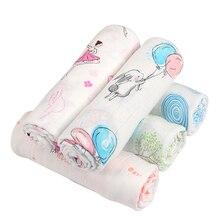 Cobertor do bebê fibra de Bambu algodão Swaddle Envelope Carrinho De Envoltório Para O Bebê Recém-nascido Cobertores de Cama