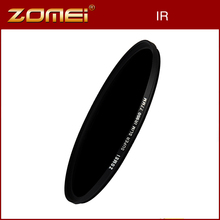 Zomei 49/52/55/58/62/67/72/77/82mm IR Filter 680NM 720NM 760NM 850NM 950NM X-Ray Optical Glass Infrared Lens Filter for Digicam