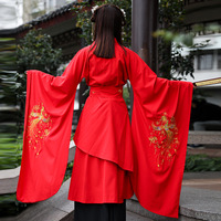 Red Hanfu National Role Costume Ancient Chinese Cosplay Costume Ancient Chinese Hanfu Women Dress Hanfu Clothes Lady Stage Dress