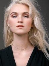Pinjeas hecho a mano delicado perlas cadena gargantilla collar minimalista regalo de moda ropa de mujer accesorios de joyería