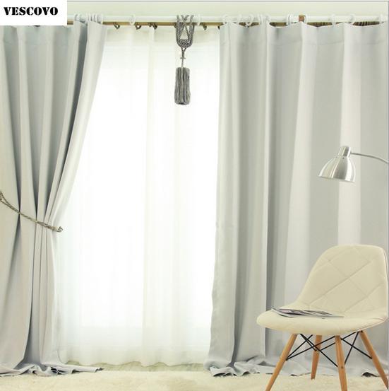 VESCOVO solide fenster fenster vorhänge für wohnzimmer luxuriöse ...