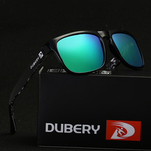 DUBERY Polarized Sunglasses Men's Driving Shades Sun Glasses For Men High Quality Retro Cheap 2017 Luxury Brand Designer