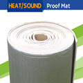 "1 Roll 4sqm 160"" x 40"" Car Firewall Door Cockpit Ceiling Trunk Heat Shield Sound Insulation Noise Control Deadener Mat Material"