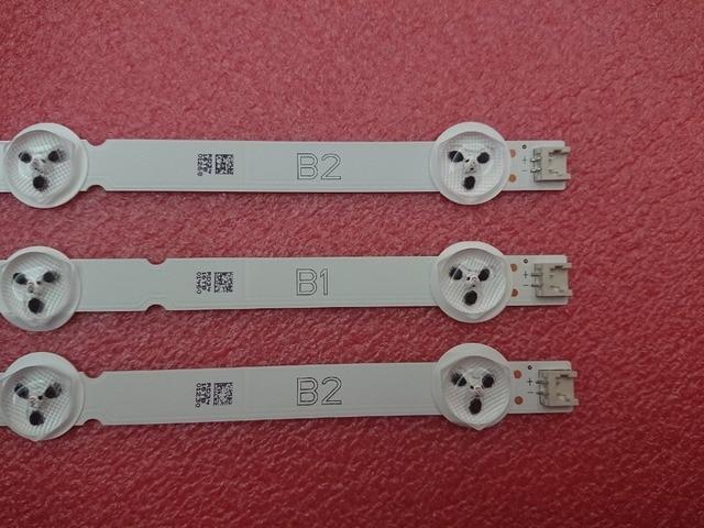 Nouveau Original 3 PIÈCES LED Bande De Rétro Éclairage pour LG 32LN541V 32LN540V B1/B2 Type 6916L 1437A 1438A LC320DUE SF R1 32LN577S 32LN5400