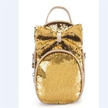 Backpack Cute Chlidren Kid Shoulders Bag Cute Fashion Sequins Bow Casual Travel Girls Backpacks designer Fashion Style