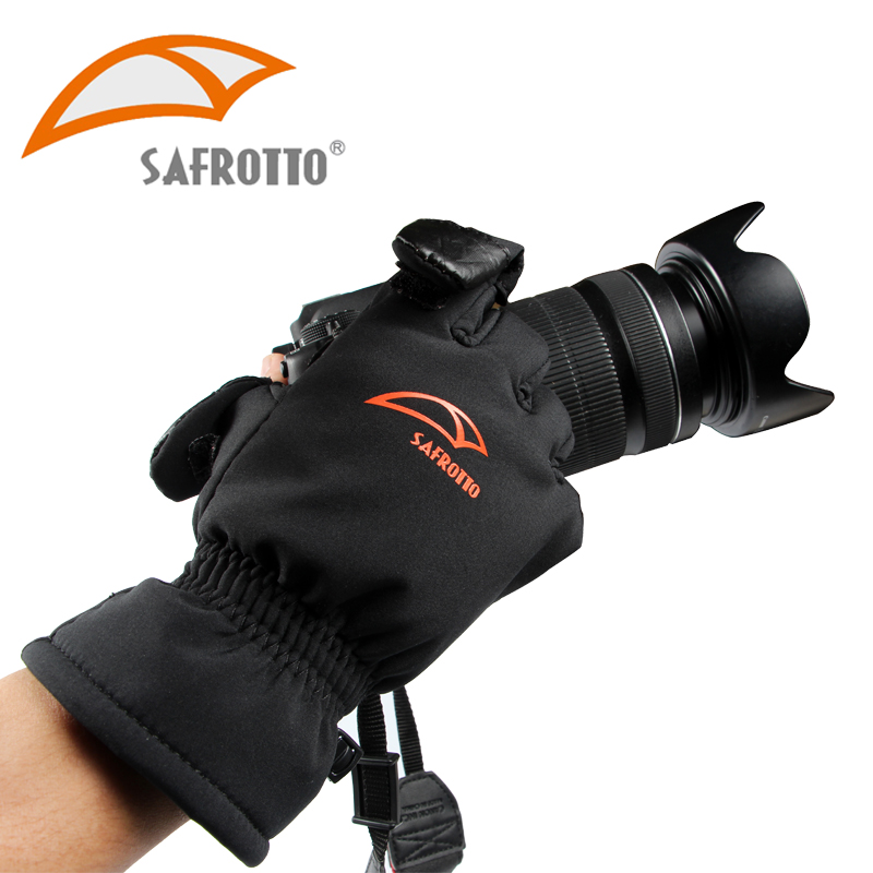 Good Quality Photographic Waterproof Winter Keep Warm Accessories Anti-Slip Camera Shooting Gloves for Canon Nikon Sony DSLR SLR