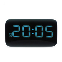 Hot Sale LED Alarm Clock Voice Control Large LED Display Electronic Snooze Backlight Desktop Digital Table Clocks Watch