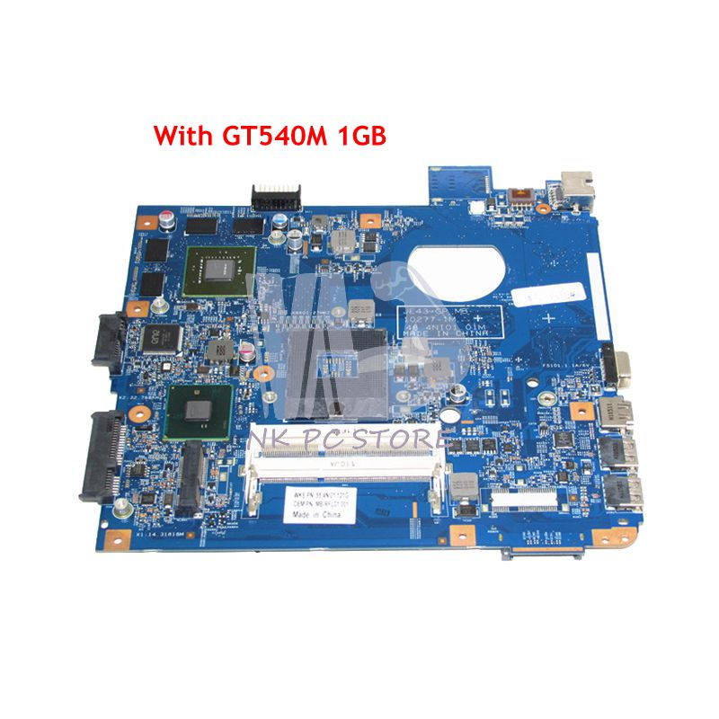 NOKOTION MB.RFL01.001 MBRFL01001 48.4NI01.01M For Acer aspire 4743 4743G Laptop Motherboard HM55 DDR3 GT540M 1GB laptop motherboard for acer aspire 4743 4743g hm55 geforce gt540m mb rfh01 002 mbrfh01002 je43 cp mb 48 4ni01 02m mainboard