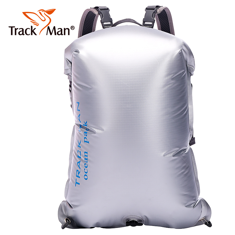 Ultralight Barrel-Shaped PVC Tarpaulin Trekking Drifting Seal Rafting Bag Double Straps Ocean Pack Coating Waterproof Dry Bag