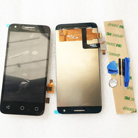 Black White LCD Display For Alcatel One Touch Pixi 3 4 5 4027 OT4027 4027D 4027A