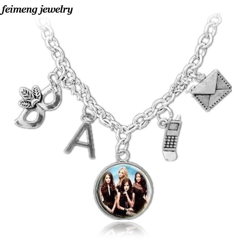 Drop Shipping Pretty Little Liars Necklace Got A Secret