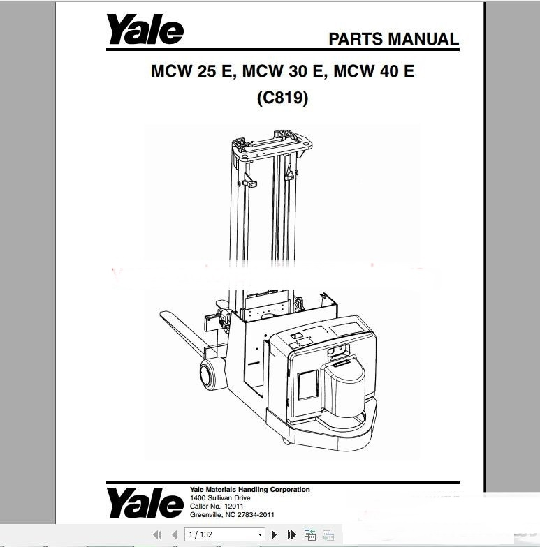 raymond pallet jack wiring diagram