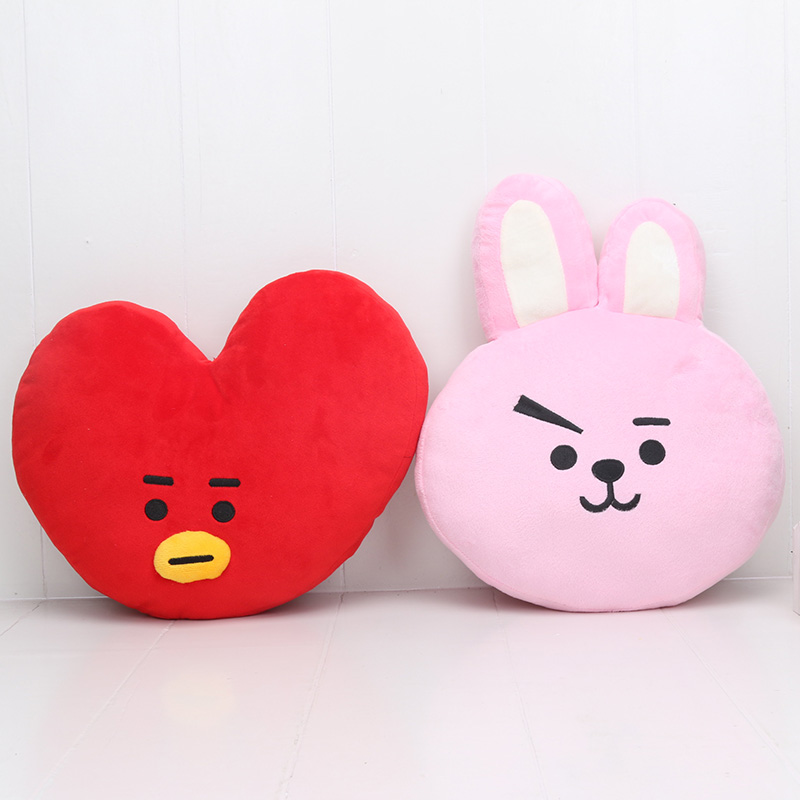 US $9.25 |24 32cm bt21 Plush Pillow BTS Bangtan boys  cushion TATA VAN COOKY CHIMMY SHOOKY KOYA RJ MANG stuffed toy Plush Doll-in Movies & TV from Toys & Hobbies on Aliexpress.com | Alibaba Group
