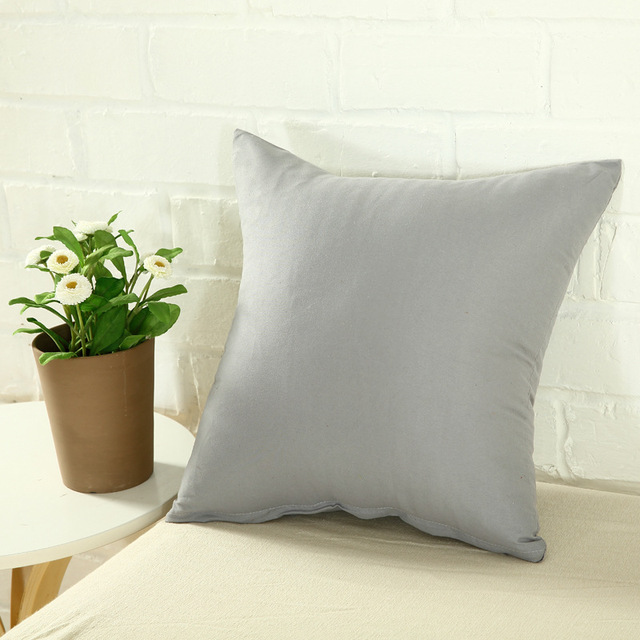 One Colored Pillow Case 3