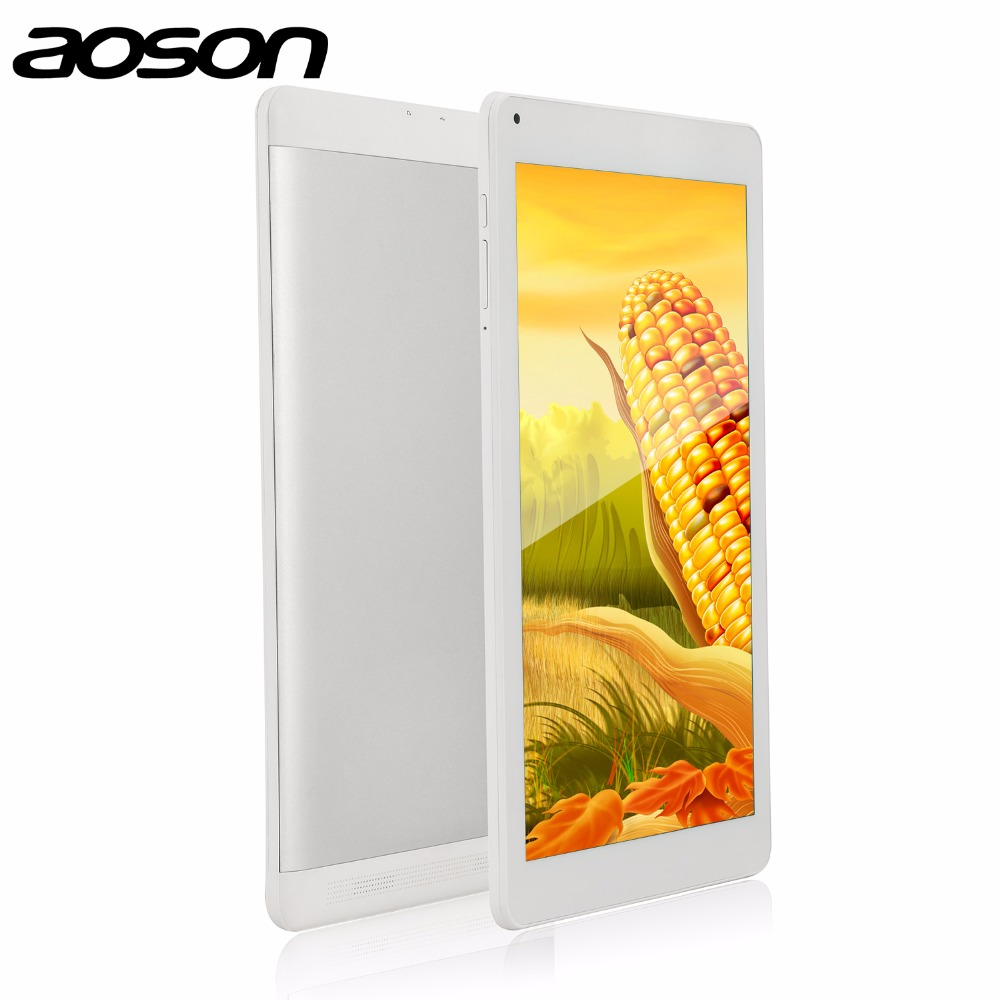 Factory Price 10.1 inch Android Tablet PC Aoson M106NB Quad Core MTK8127 Android 4.4 1G+8G Dual Camera 5MP Bluetooth 3G External