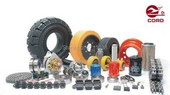 Linde forklift part 0009933803 load wheel used on 131 1158 electric pallet truck T20 T30