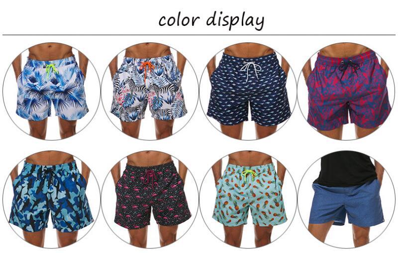 6c5cbf808f 26 to choose m 3xl 6xl quick dry plus size Beach Shorts Swimwear Men Swim  Shorts Swimming Swimsuit zwembroek heren Sunga 084
