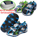 Moda 1 pair Adorável Crianças PU Sandálias de Couro Do Bebê, sapatas Dos Miúdos Menino de verão, Super qualidade de sandálias de praia